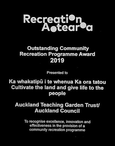 recreation award - Home