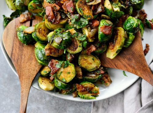 Brussel Sprouts Bacon Onion