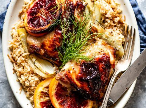 Fennel Orange Chicken