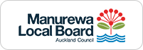 manurewa local board logo - Our Gardens